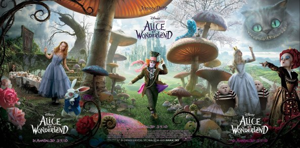 Alice no Pais de Tim Burton