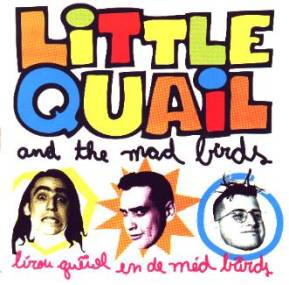 Capa do primeiro cd do Little Quail