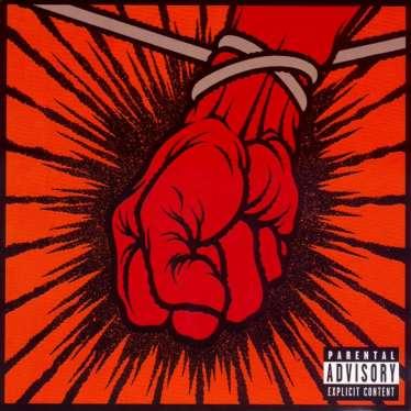 A capa de St. Anger.