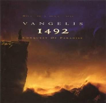 Capa da trilha sonora de 1492- A Conquista Do Paraíso.