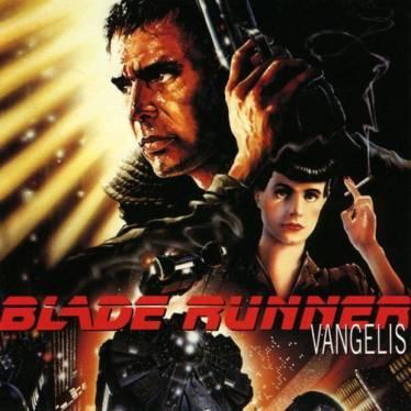 Capa da trilha sonora de Blade Runner.