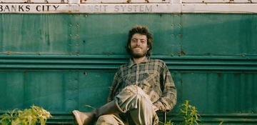 O verdadeiro Chris McCandless, num auto retrato que retrata um do seus último momentos.
