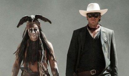Interação entre Armie Hammer e Johnny Depp é um dos pontos altos do filme.