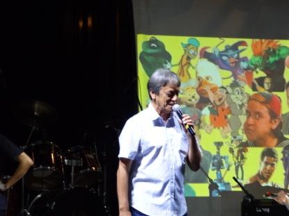 Com um bate papo bastante descontraído, Nelson Machado relembrou sua trajetória e respondou perguntas do público.