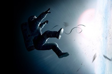 À deriva no espaço.