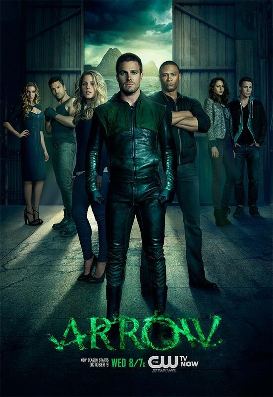 Arrow 2 temporada poster