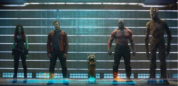 Guardiões da Galáxia reunidos