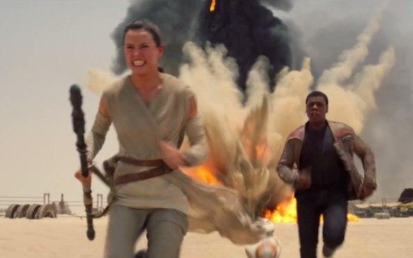 Star Wars O Despertar Da Força cena em Jakku
