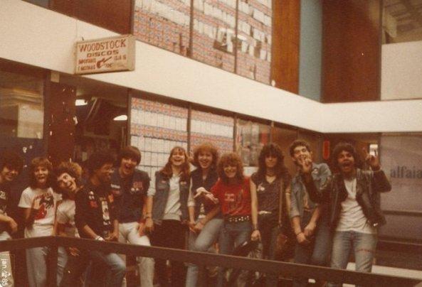 Woodstock Discos em seu primeiro endereço.