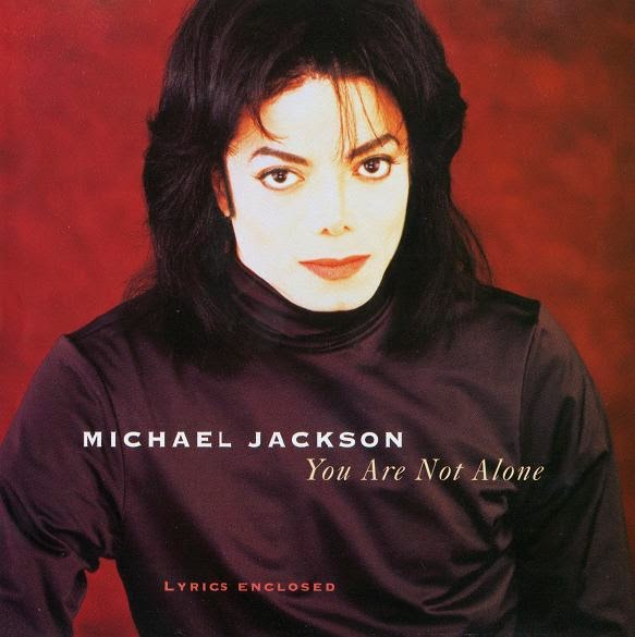 "Capa do single de ""You Are Not Alone""."