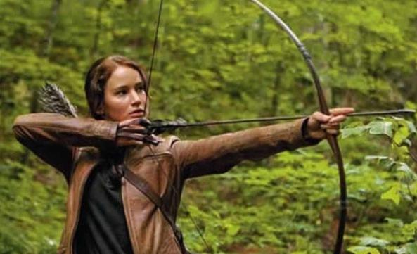 Escalação da atriz Jennifer Lawrence no papel da protagonista Katniss Everdeen é um dos trunfos do filme.