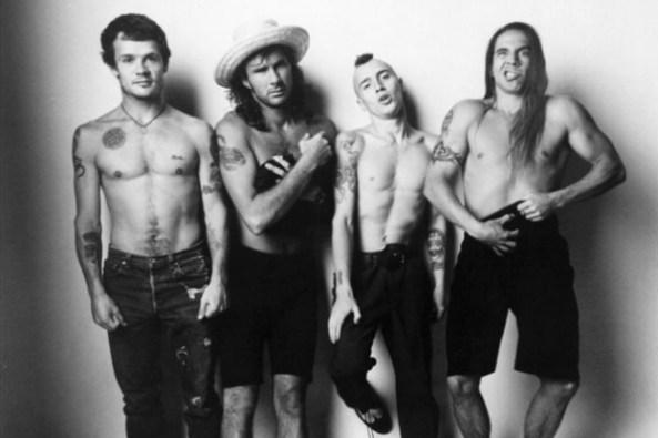 A formação que gravou o clássico de 91: Flea (baixo), Chad Smith (bateria), John Frusciante (guitarra) e Anthony Kiedis (vocal).
